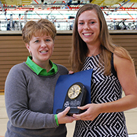Mary Ellen Smith Academic and Athletic Achievement Award - Krista Knapke