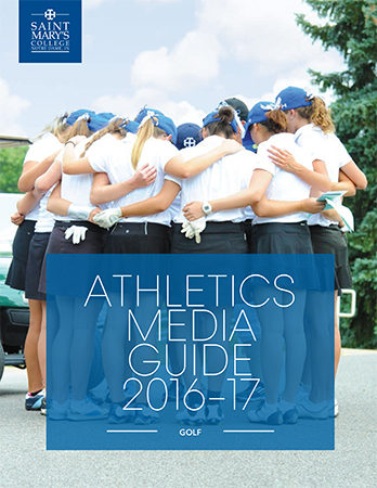 2016-17 Golf Media Guide cover