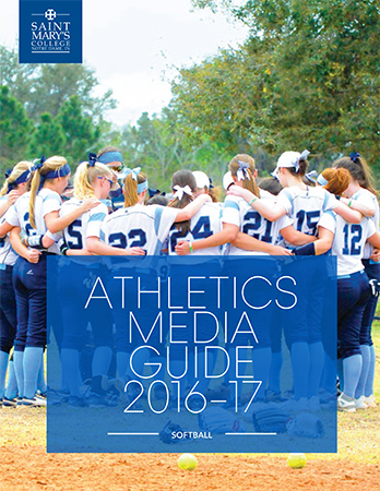 2016-17 Softball Media Guide cover
