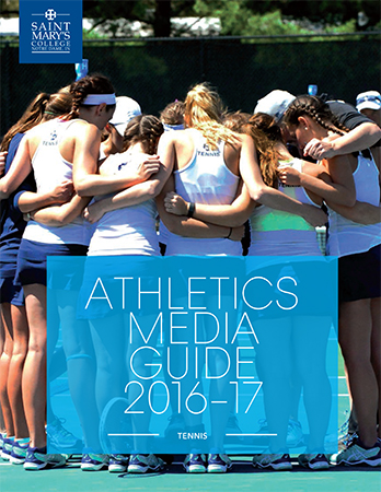 2016-17 Tennis Media Guide cover