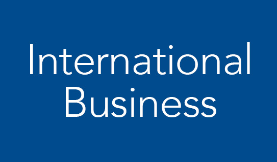 International & Global Business options