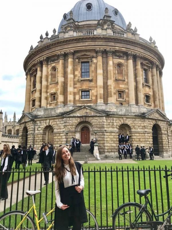 Kate Kulwicki, class of 2017 at Oxford