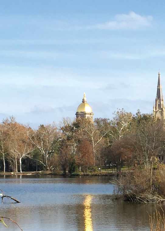 Golden Dome – A 175 year connection to Saint Mary's
