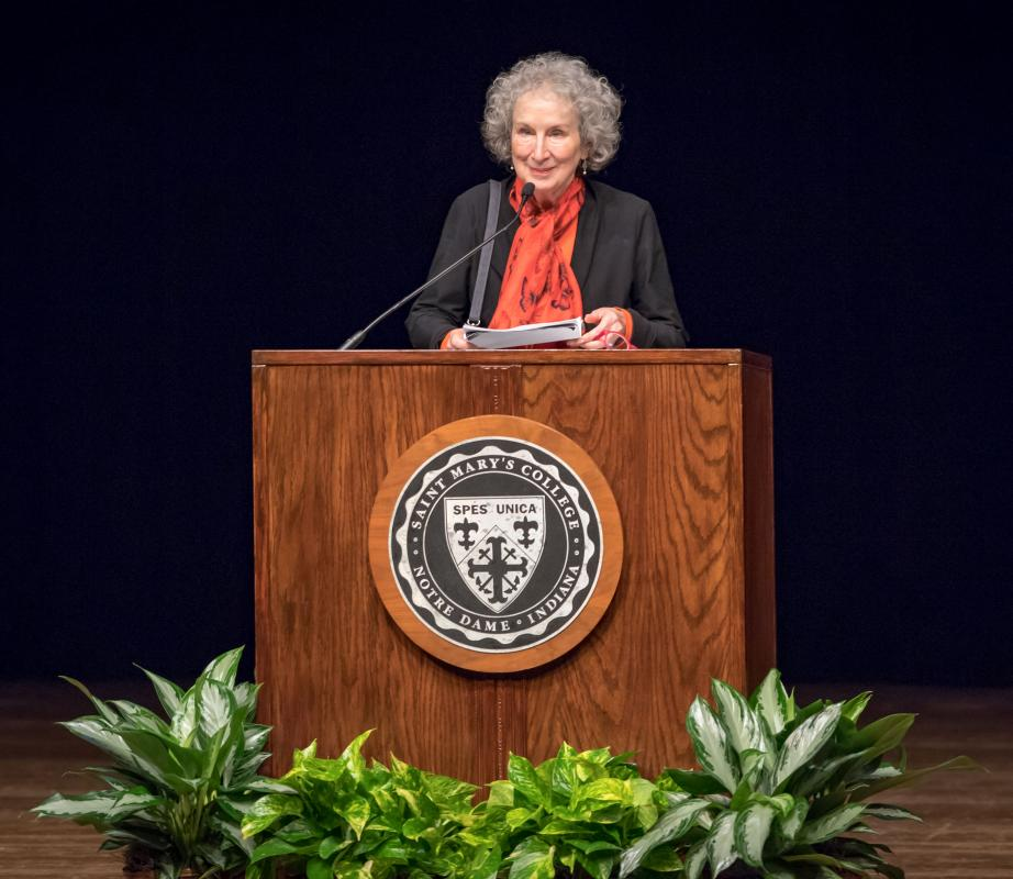 Margaret Atwood at Saint Mary's