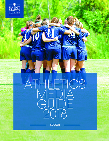 Cover of 2017-18 Soccer Media Guide