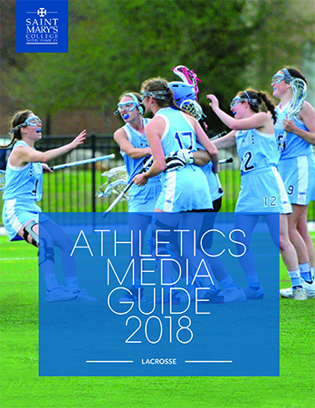 2017-18 Lacrosse Media Guide cover