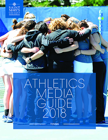 2017-18 Tennis Media Guide cover