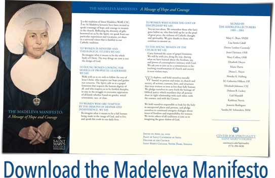 Download the Madeleva Manifesto