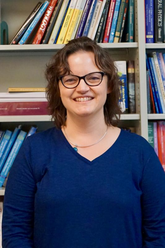 Colleen Hoover, associate professor of mathetmatics