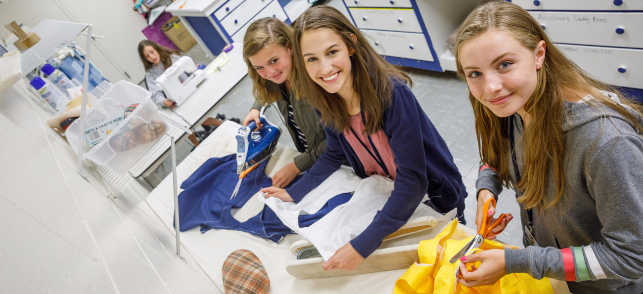 Design, Draw, Sew, and More at Fashion Camp!