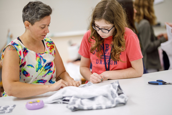 Fashion Camp at Saint Mary's College