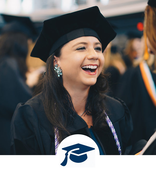 Graduation at Saint Mary's College
