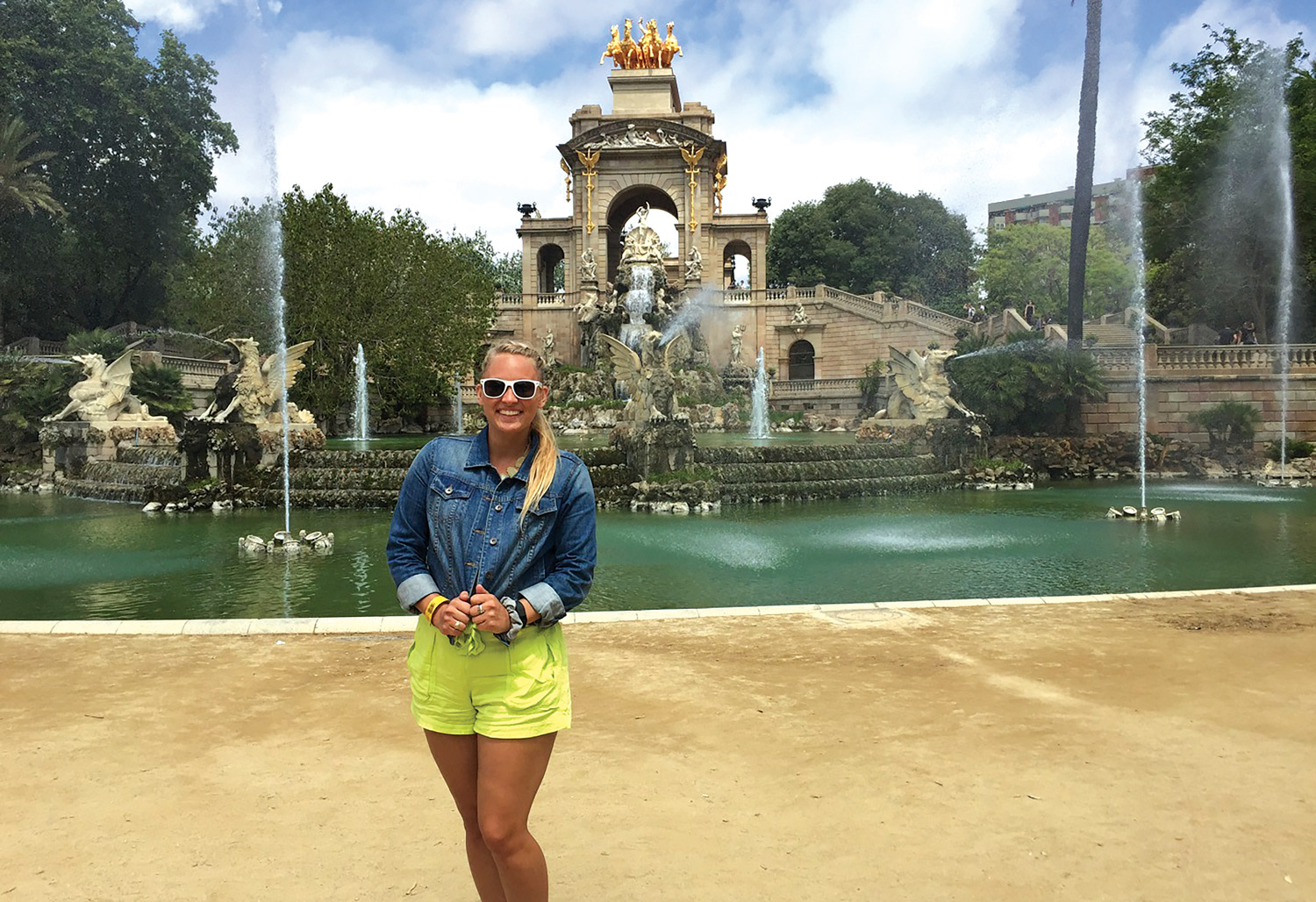 Brenna Leahy studies abroad as a Saint Mary