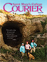 courier cover art for the summer 2016 issue