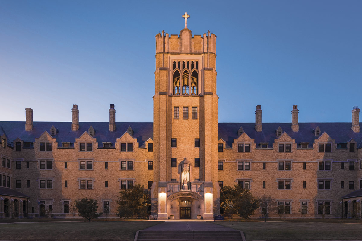 Le Mans Hall, Saint Mary's College — Notre Dame, Indiana