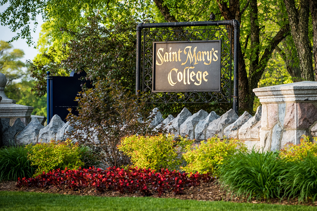 Saint Mary's College entrance
