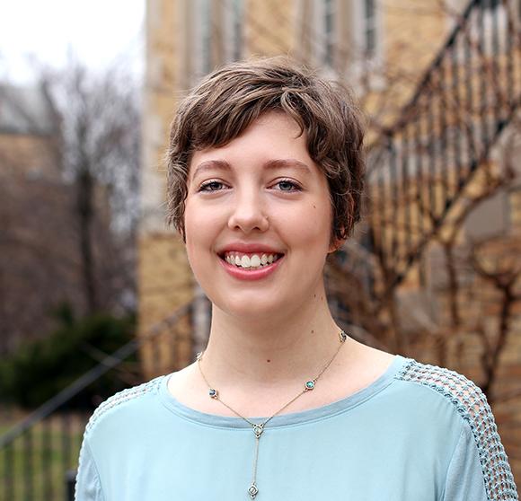 Susan Kratzer, class of 2018