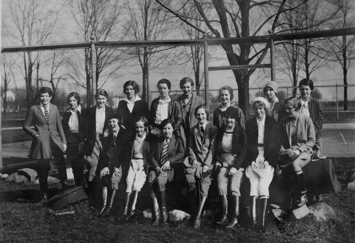Equestrian Club circa 1930 at Saint Mary