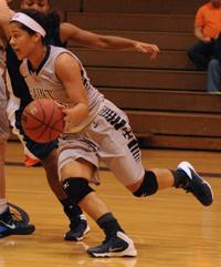 Shanlynn Bias scored a game-high 15 points.