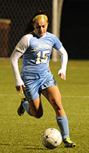 Erin Mishu led the Belles with two shots against Hope.
