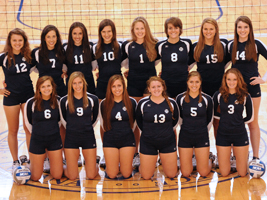 The volleyball team had the highest GPA among the eight Belles varsity sports.