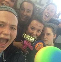 Soccer - Hannah and Friends Kickball Tournament