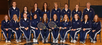 The 2004 Saint Mary's tennis team won their fourth consecutive MIAA Tournament and the program's third overall MIAA Championship.