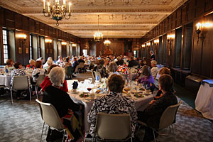 Reunion dinner in Stapleton Lounge, 2009.