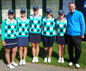 The Belles shot a 323 at day two of the 2012 NCAA DIII Golf Championship for their best round of the year thus far.