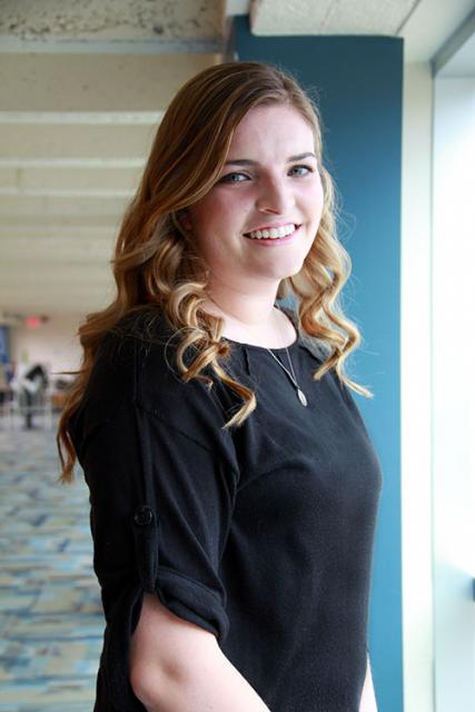 Allison Sherman '13, valedictorian, will be earning her teaching certification at Northern Illinois University.