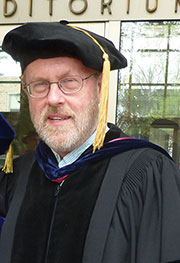 Marc Belander, associate professor of political science, is the recipient of the 2015 Spes Unica Award.
