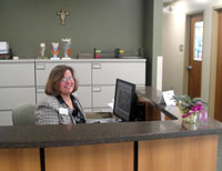 CSD Desk: Communicative Sciences and Disorders Dept
