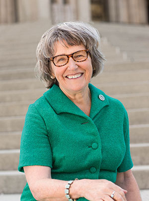 Sister Simone Campbell, SSS, is a 2014 Center for Spirituality spring lecturer.
