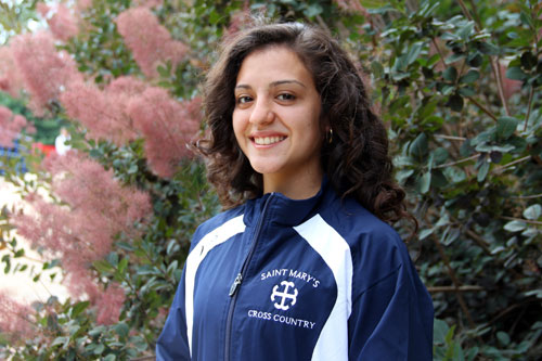 Clarisa Medina '16 is Saint Mary's College's first Gates Millennium Scholar.