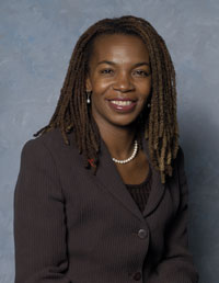 Stephanie Hightower, 1980 Olympian, Board Chairperson of the USA Track & Field Association, and President/CEO of the Columbus Urban League