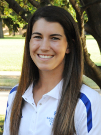 Janice Heffernan led the Belles with a two-day score of 165.