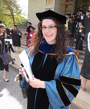 Laura Williamson Ambrose, assistant professor of humanistic studies, is the 2013 recipient of the Maria Pieta Award.