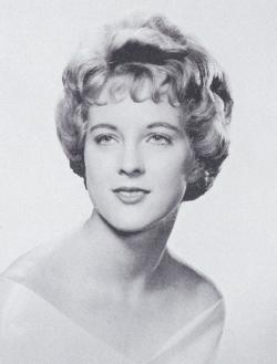 Marjorie A. Neuhoff '61, pictured in 1961 yearbook