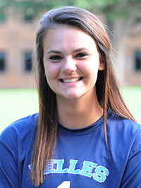 Rachel McCarthy made 10 saves for the Belles.