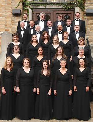The South Bend Chamber Singers are an ensemble-in-residence at Saint Mary's College.