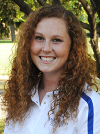 Sammie Averill led the Belles on Saturday with an 83.