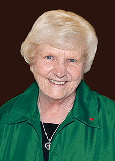 Sister Rosemary Connelly, RSM, executive director of Misericordia Home in Chicago, is Saint Mary's 2015 Commencement Speaker.