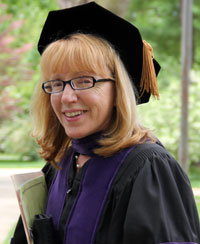 Professor Susan Vance, a 2012 recipient of the Spes Unica Award.