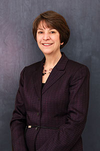 Saint Mary's College Vice President of Finanace and Administration Susan K. Bolt