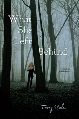 "Each person who attends the ""Get Inked"" teen writers conference will receive an autographed copy of ""What She Left Behind"" by young adult author and keynote speaker Tracy Bilen."