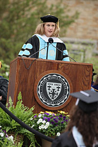 Therese Johnson Borchard '93 Commencement Speaker
