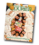 courier cover art for the winter 2008 issue