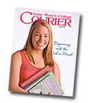 courier cover art for the summer 2009 issue