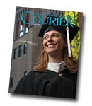 courier cover art for the summer 2010 issue