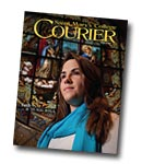 courier cover art for the winter 2010 issue